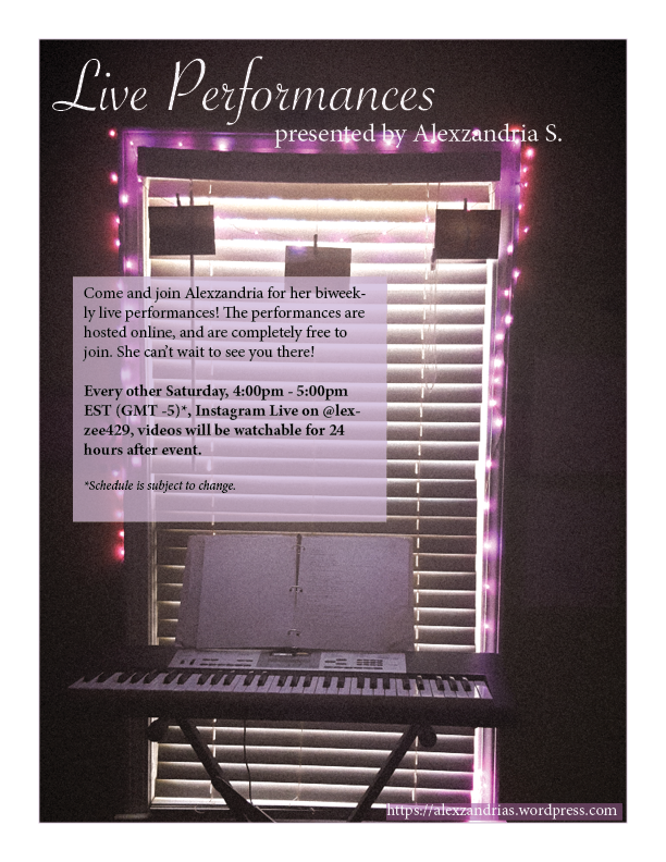 Live Performance Flyer